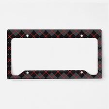 Argyle_Black1_Large1 License Plate Holder