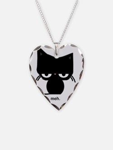 meh cat Necklace