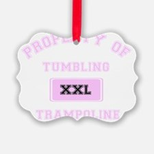 Property of Tumbling Trampoline Ornament