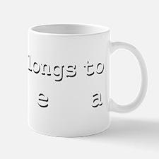 My Heart Belongs To Thea Mug