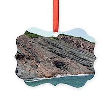 Rock Uplifts#4 Cape Breton Island Ornament