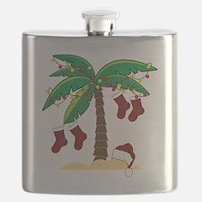 Tropical Christmas Flask