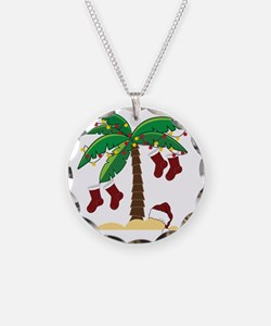 Tropical Christmas Necklace