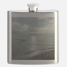 Morning Sun Cape Breton Island#8 Large Print Flask