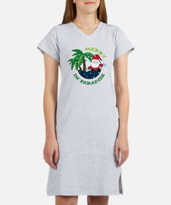 Merry In Paradise Women's Nightshirt