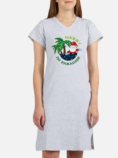Merry In Paradise Women's Nightshirt