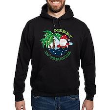 Merry In Paradise Hoodie