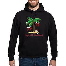 Tropical Christmas Hoodie