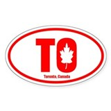 Toronto sticker Single