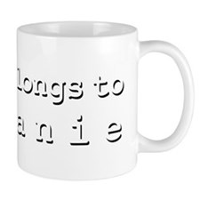 My Heart Belongs To Tiffanie Mug