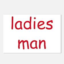 LADIES MAN Postcards (Package of 8)