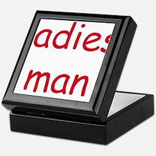 LADIES MAN Keepsake Box