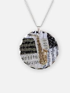 0555-sq-sax Necklace