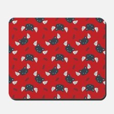 CatCute_Red_Large Mousepad