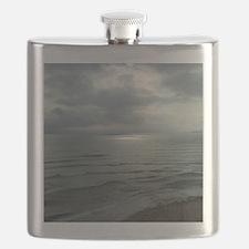 Morning Sun Cape Breton Island#2 Large Print Flask