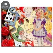 Alice Painting Roses SQ Puzzle