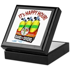 Scuba Happy Hour Keepsake Box