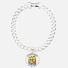 Scuba Happy Hour Charm Bracelet, One Charm