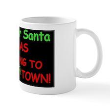 Santa Move Over dark Mug