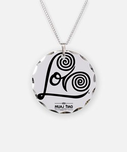 White: Heart Me Necklace