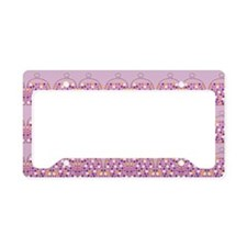 CandySweets_Lilac_Large License Plate Holder