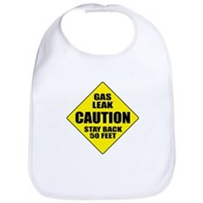 Caution: Gas Leak Bib
