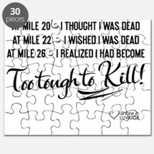 tshirt black transparent At mile 20 I thoug Puzzle