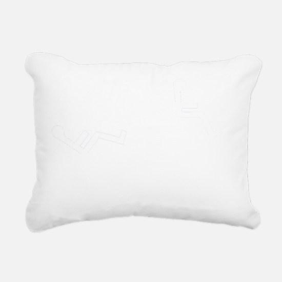 Tankchair Road Kill Rectangular Canvas Pillow