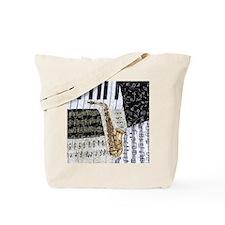 0555-ipad-sax Tote Bag
