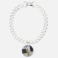 0555-ipad-sax Charm Bracelet, One Charm