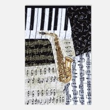 0555-sax Postcards (Package of 8)