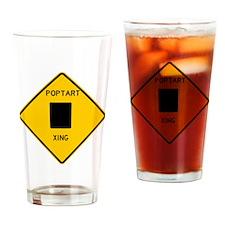 Poptart XING Drinking Glass