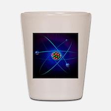 Atomic structure Shot Glass