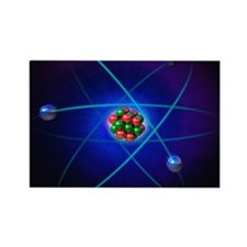 Atomic structure Rectangle Magnet