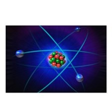 Atomic structure Postcards (Package of 8)