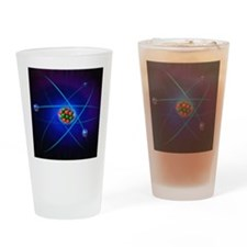 Atomic structure Drinking Glass