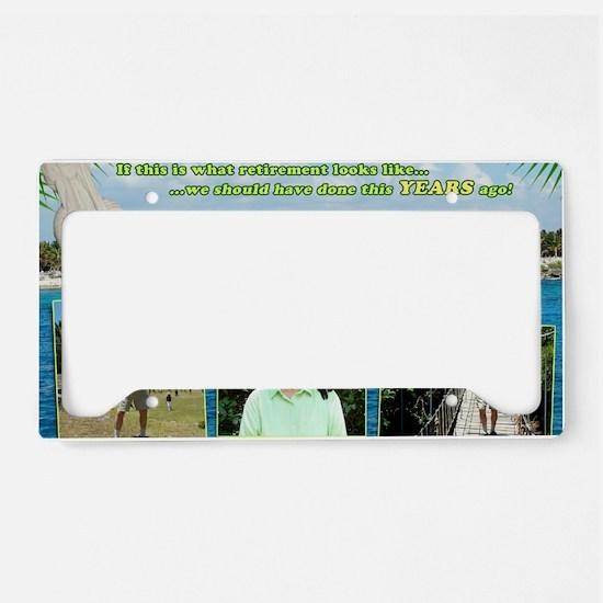 jan License Plate Holder
