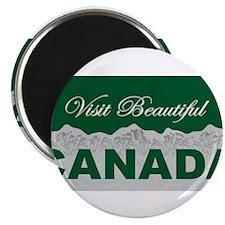 Visit Beautiful Canada Magnet
