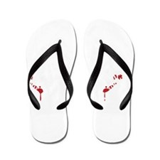 R.D.M Crew (white) Flip Flops