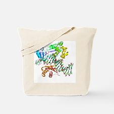 DNA polymerase molecule Tote Bag