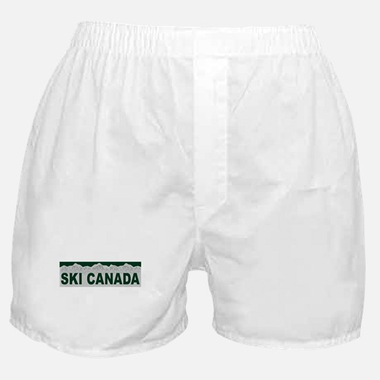 Ski Canada Boxer Shorts