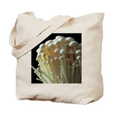 Enoki mushrooms (Flammulina velutipes) Tote Bag