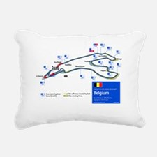 Formula 1 - Circuit de S Rectangular Canvas Pillow