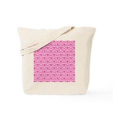 FlourishSoftClassic_Pink1_Large Tote Bag