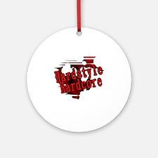 Hardstyle / Hardcore Round Ornament