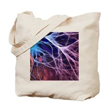 Electron flow Tote Bag