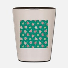 FlowerJeans_Green_Large Shot Glass
