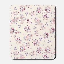 FlowerLiberty1_White_Large Mousepad