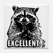Excellent Raccoon Tile Coaster