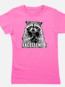 Excellent Raccoon Girl's Tee